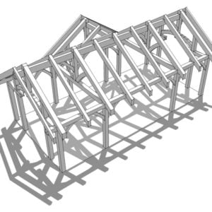 32x16 Timber Frame Pavilion
