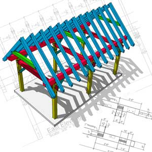 Timber Frame Plans for Sale