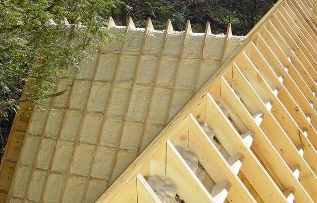 Timber Frame Roof System