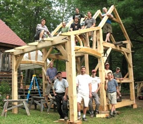 Heartwood Timber Frame School