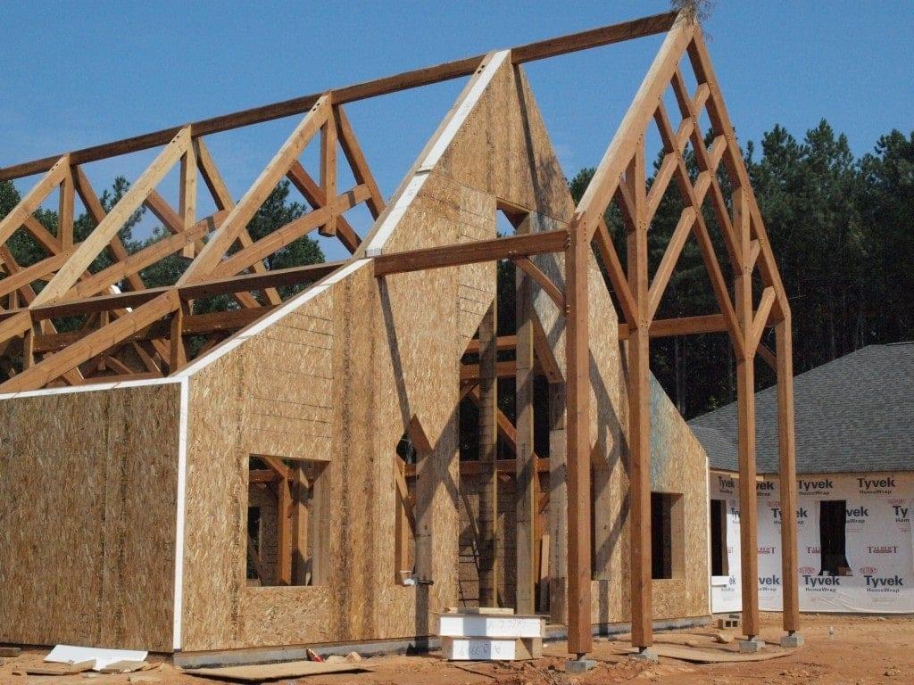 SIPschool Installing Panels on Timber Frame