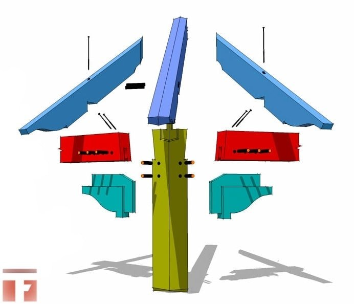 Timber Frame Corbel