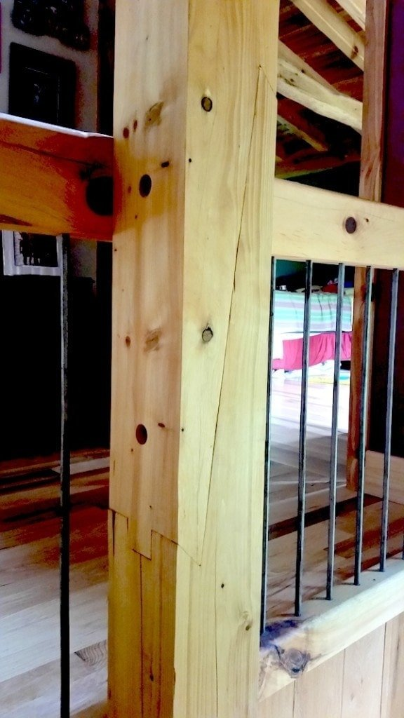 Scarf Joint for a Timber Frame