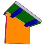 Timber Frame Purlins with Sips
