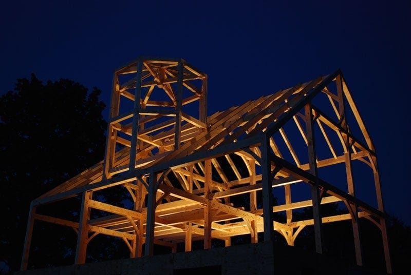 Gillis Timber Frame night