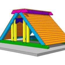 Timber Frame Playgorund Plan