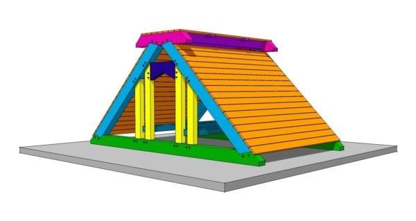 Timber Frame Playgorund Plan
