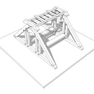 Timber Frame Playground