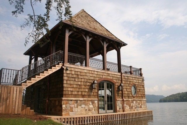 MoreSun Custom Woodworking Boathouse