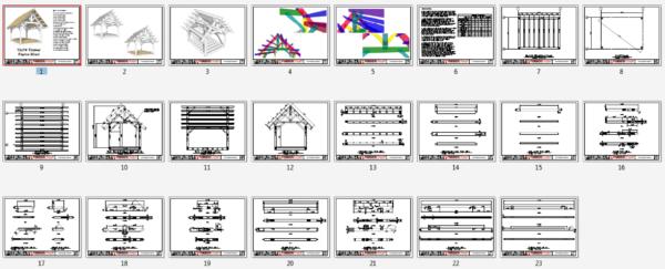 12x16 King Post Truss Plan Overview