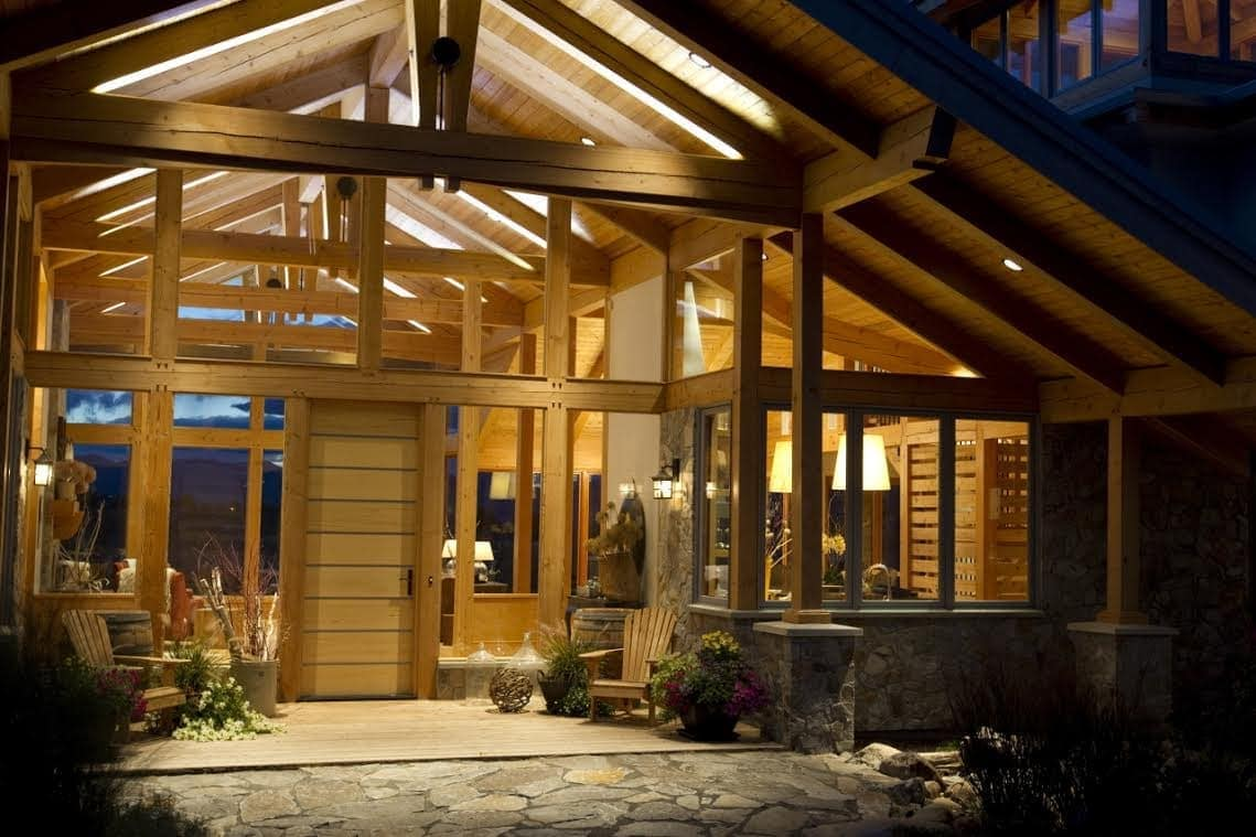 Daizen Joinery Cherry Creek Timber Frame Home