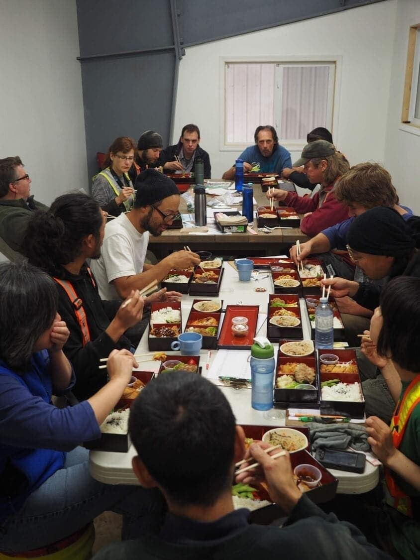 Daizen Monthly Company Lunch