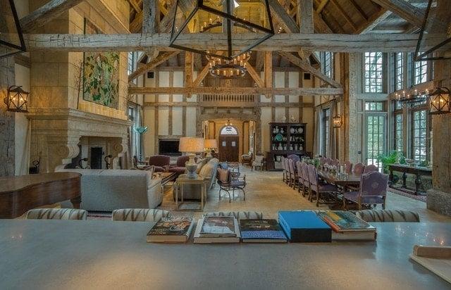 Carolina Timberworks Tudor Great Room