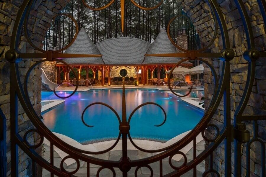 Carolina Timberworks Pool Pavillion