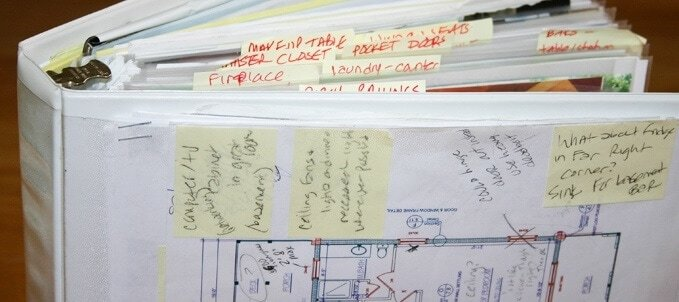 Home Design Binder