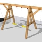 Timber Frame Swing Set Plan Timber Frame Hq