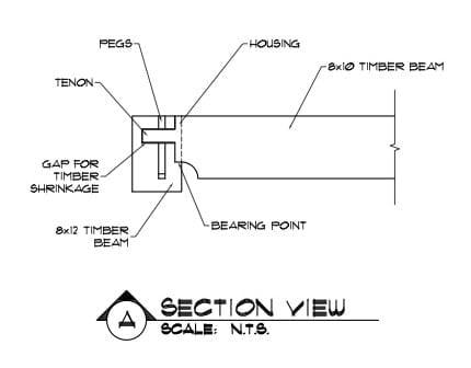 2d Tusk Tenon Drawing