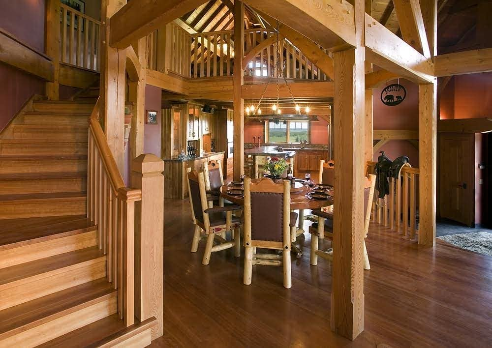 Groovy 7 Ways To Reduce The Cost Of Building A Timber Frame House Home Interior And Landscaping Elinuenasavecom