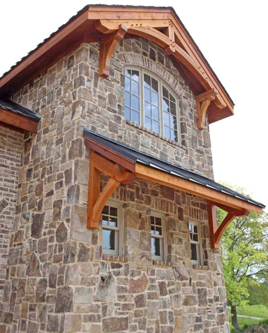 Stone and timbers