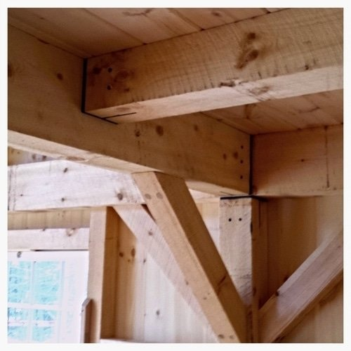 post and beam framing