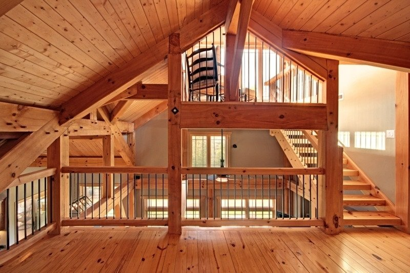 Timber Frame Engineering Example