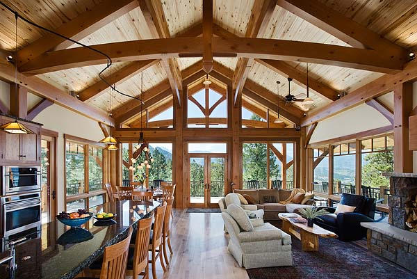 Mountain Timber Design Beauty and Views