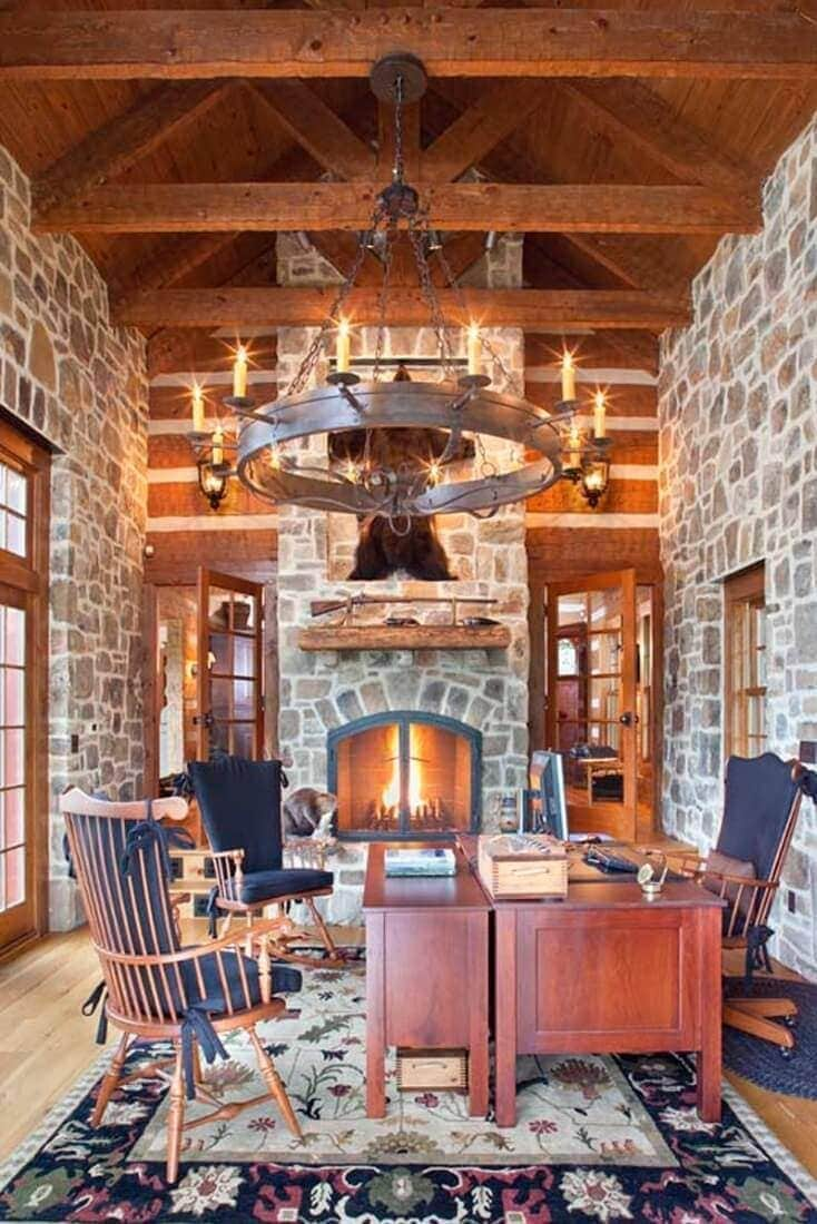 StoneMill Log & Timber Homes space