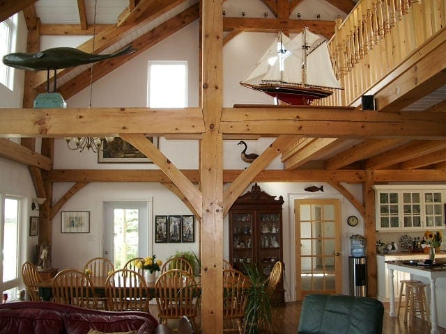 17 Timber Frame Homes That Make You Want To Stay Inside