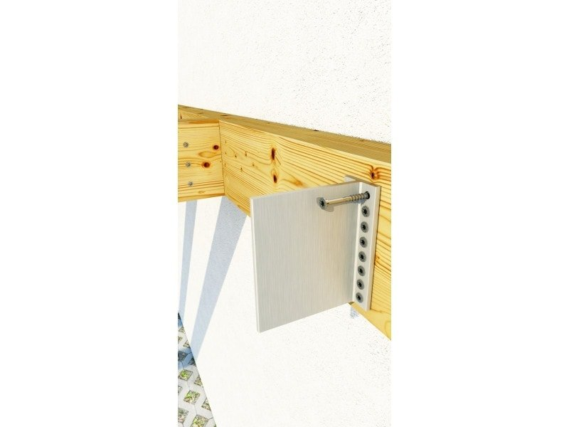 Alumini Concealed Beam Connector - Timber Frame HQ