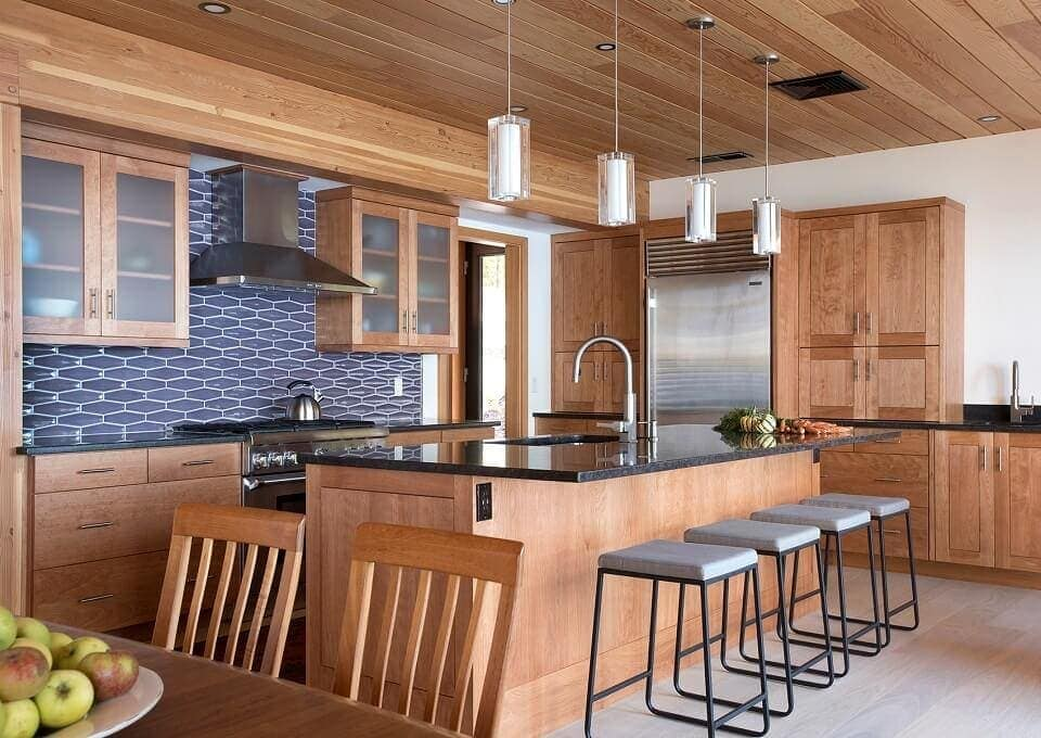 15 Timber Frame Homes That Will Make You Want To Cook A Great Meal Timber Frame Hq