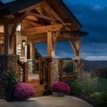 Timberbuilt Olive Side Entry Porch