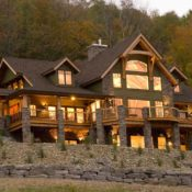 Timberbuilt Olive timber frame home