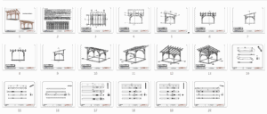 12x16 Shed Roof Plan_Overview