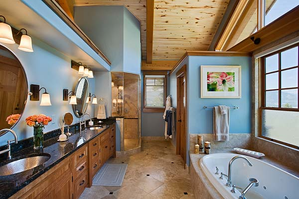 Mountain Timber Design Soak in a Tub