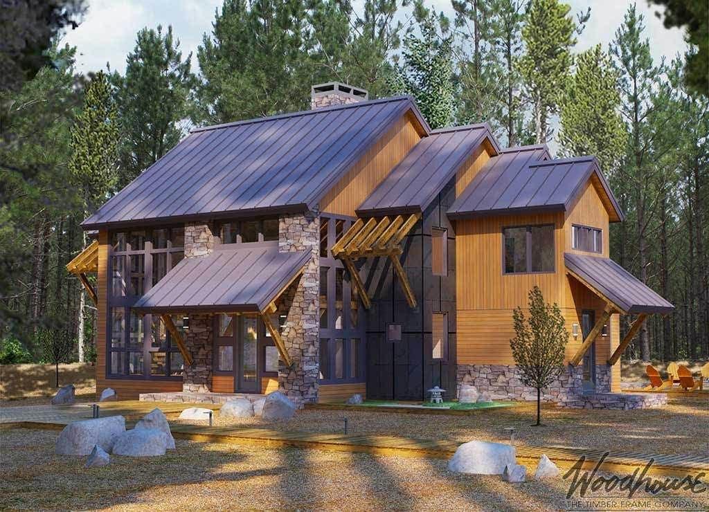 Woodhouse - Deschutes - Modern Timber Frame Homes