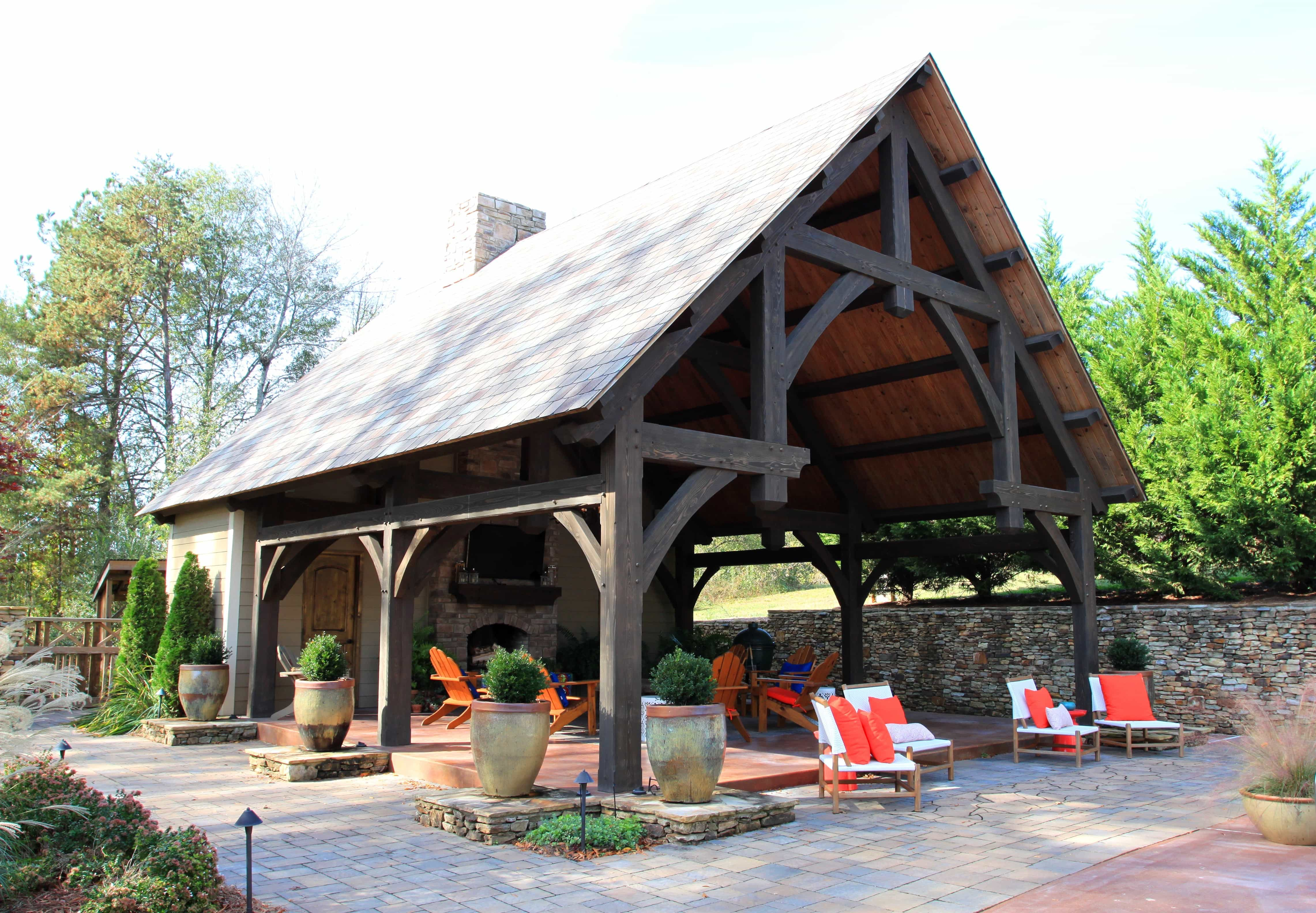 Be Outdoors Homestead Timber Frame