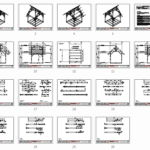 10x10 King Post Timber Frame Plan_Overview