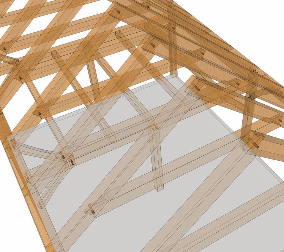 Saltbox Style 1 Car Garage Plan 65238: 28x20 Saltbox Plan