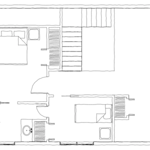 Tugaloo Cabin Second Floor Plan