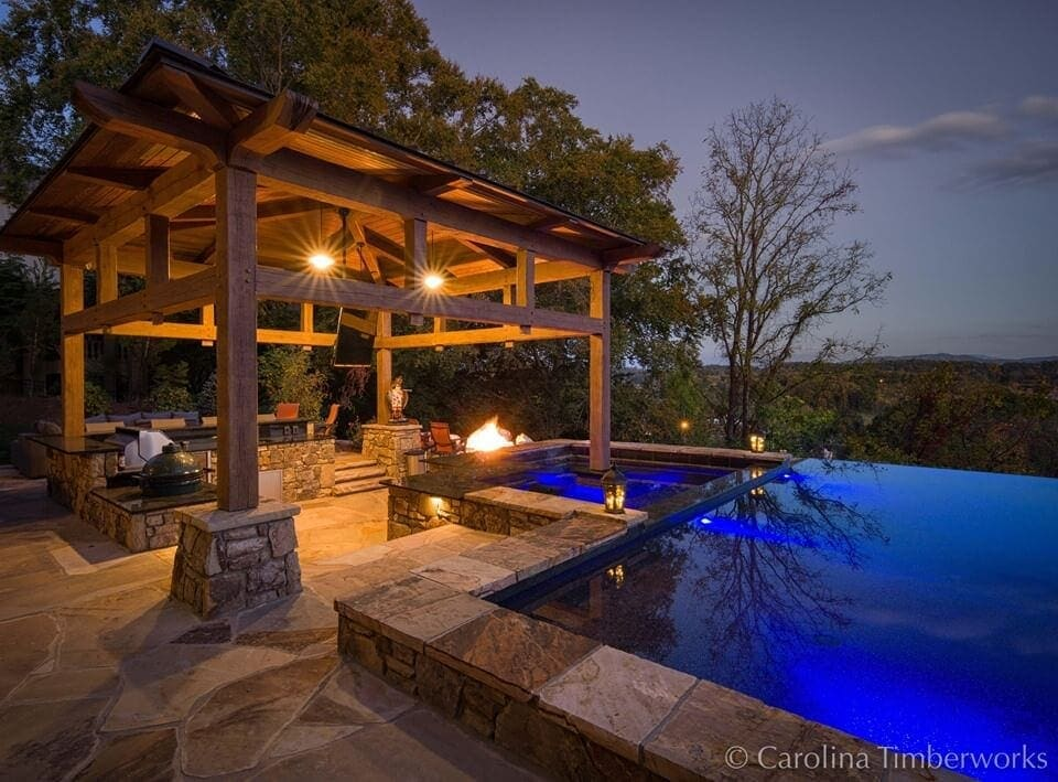 Lounge by a Swimming Pool