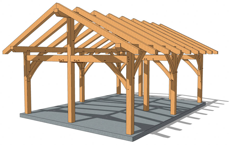 pavilion plans timber frame hq rh timberframehq com