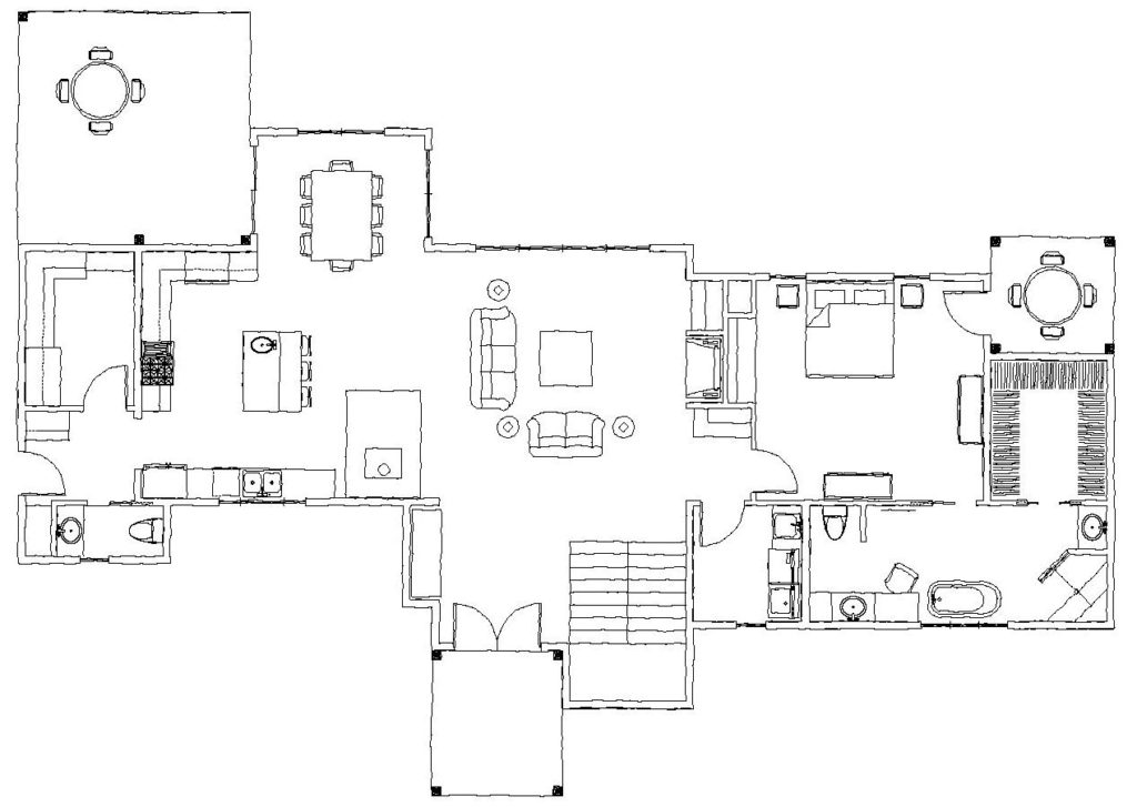The West Fork Main Floor Plan