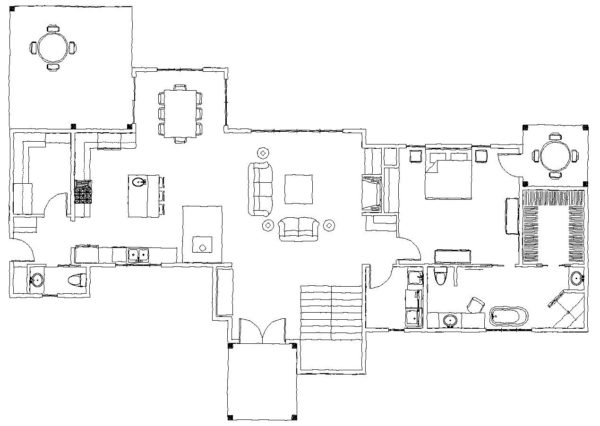 The West Fork Main Floor Plan