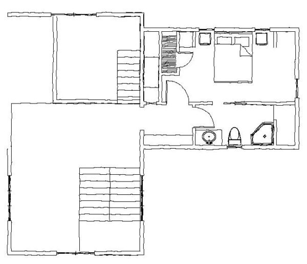 The West Fork Second Floor Plan