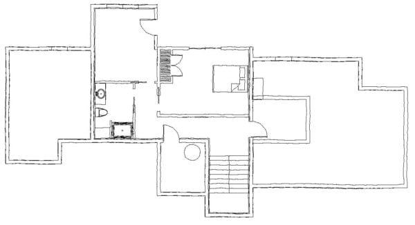Then West Fork Ground Floor Plan