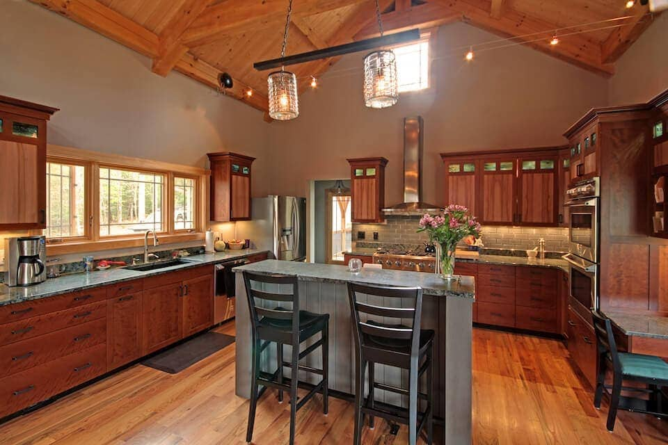 Timber Frame Kitchen Design Considerations