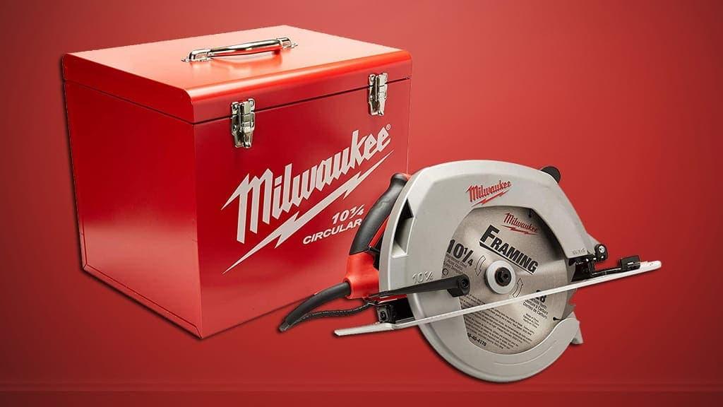 Milwaukee 6470-21 15 Amp 10-14 Inch Circular Saw Review