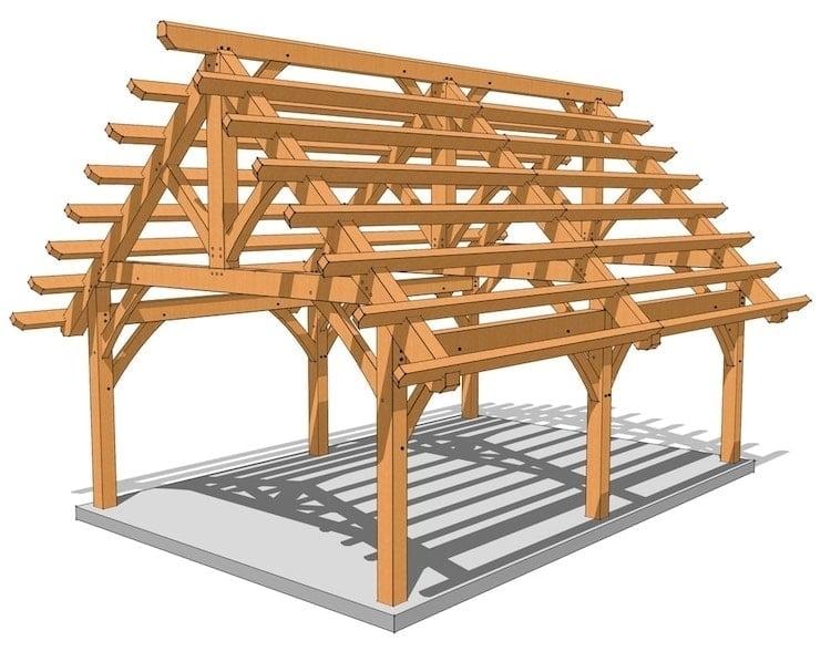 Timber Frame Carport Plans 2022