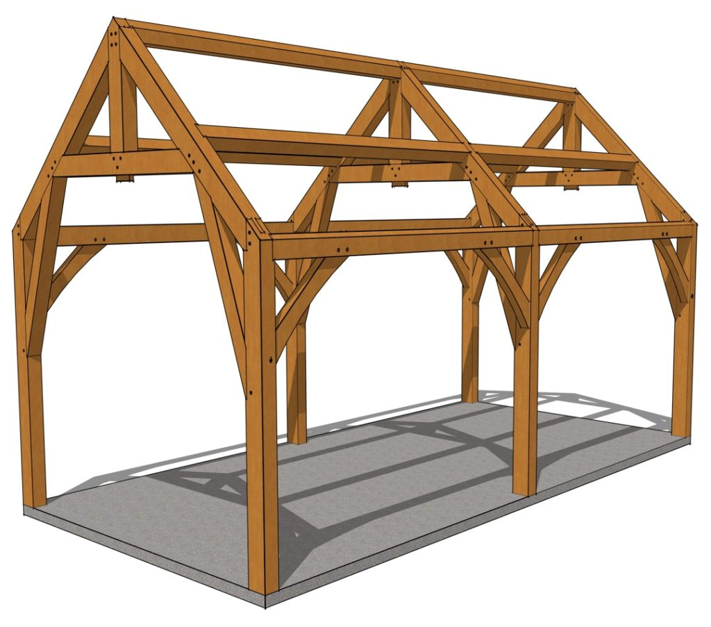 12x24 Gothic Arch Pavilion Eye Level