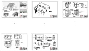 20x20 Construction Drawings Plan Overview